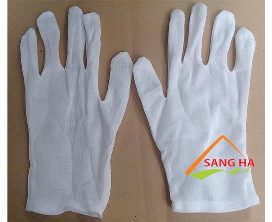 Găng tay vải thun XL+4