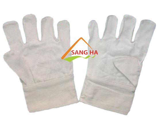 găng tay vải bạt 8