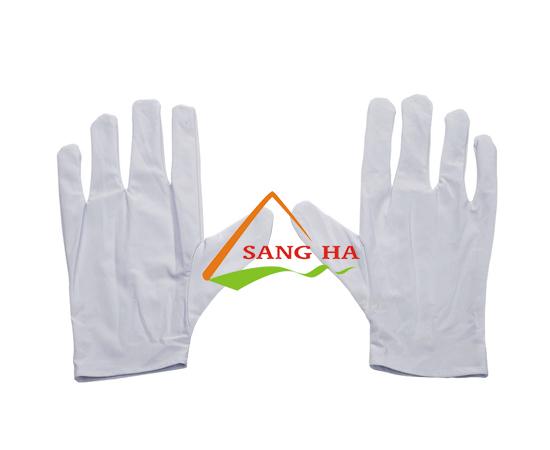 Găng tay vải thun lạnh co giản 4 chiều