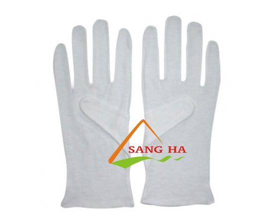 Găng tay vải thun L
