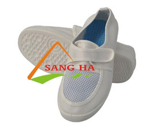 giày phòng sạch linkworld mặt lưới dán