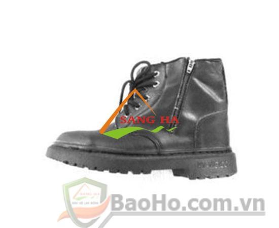 Giày bảo hộ Việt Ý VIGI cao cổ dây kéo bên hông