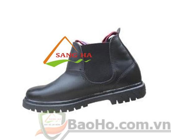 Giày bảo hộ Việt Ý VIGI cao cổ có thun 2 bên hông