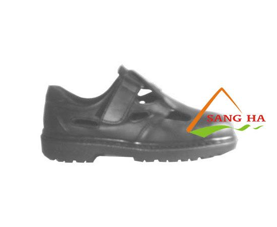 Giày bảo hộ lao động Vigi thấp cổ dán xé đục lỗ