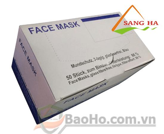 Khẩu trang y tế FaceMask 3 lớp