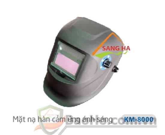 Mặt nạ hàn điện cảm ứng ánh sáng KM-8000