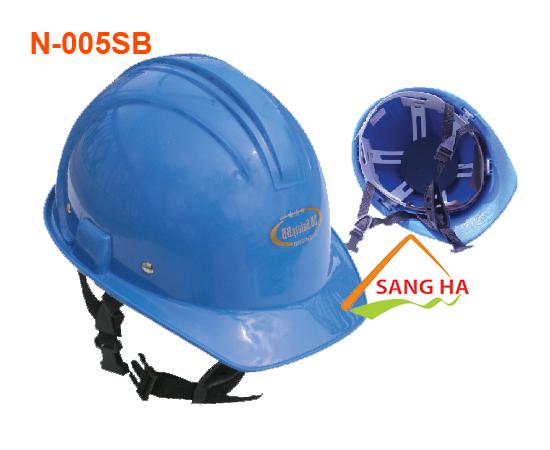 Nón bảo hộ xây dựng nhựa N005SB