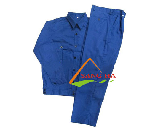 Quần áo bảo hộ vải Kaki 65/35