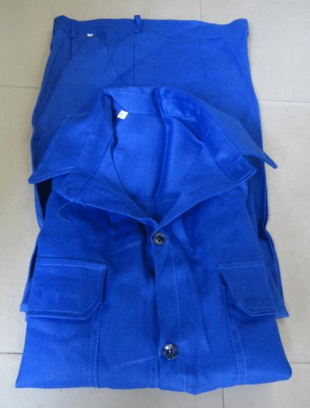 Quần áo bảo hộ vải xi nhiều màu