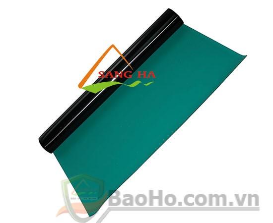 + Thảm cao su chống tĩnh điện + Chất liệu: cao su 2 lớp + kích thước: 1m x 10m x 2mm + Màu: Xanh rêu