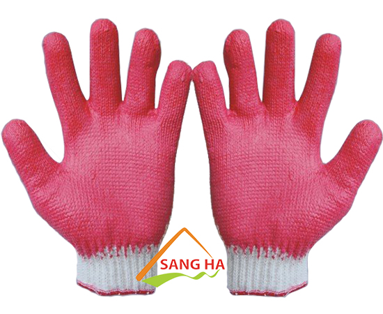 găng tay len phủ cao su 60g