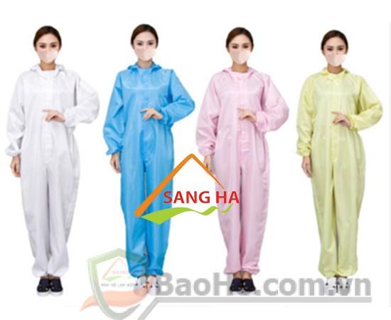 quần áo phòng sạch bảo hộ lao động