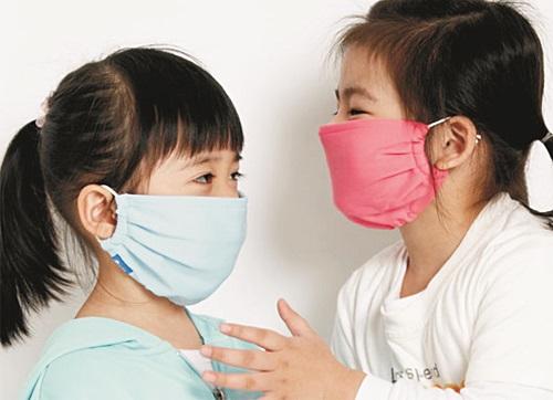 Khẩu trang phòng bệnh đường hô hấp trẻ em