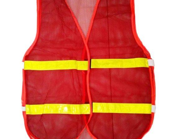 áo phản quang 3m đỏ