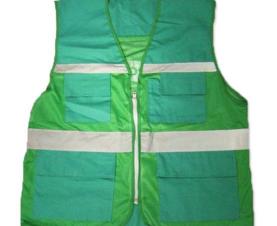 Áo phản quang gile xanh lá