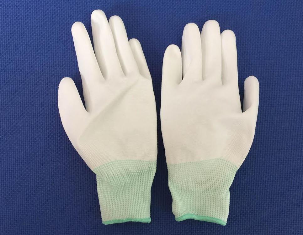 Găng tay phòng sạch phủ PU