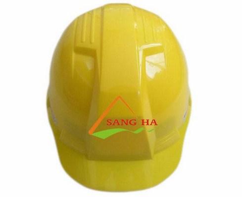 Mũ bảo hộ công nhân màu vàng