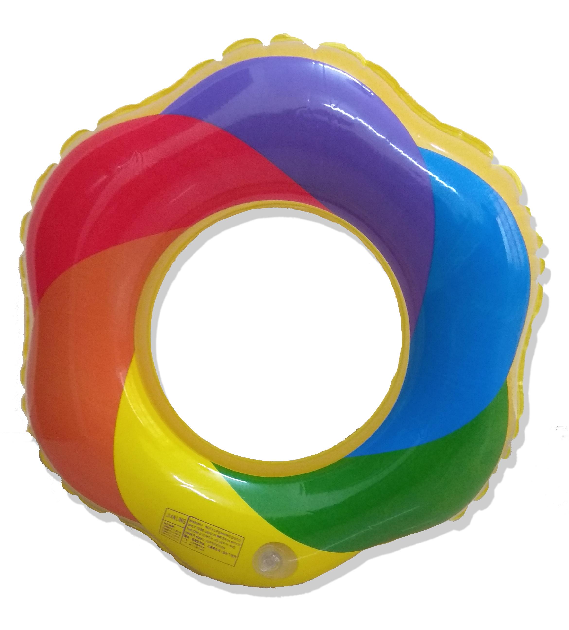 Phao bơi trẻ em cầu vòng 7 màu