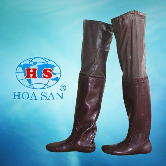 Ủng Cấy nâu HS-07