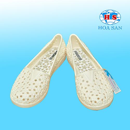 Giày nhựa nữ trắng HS-G01