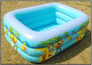 Bể bơi trẻ em 3 tầng 2.1 X 1.4M X 60CM
