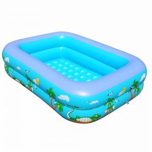 Bể bơi phao cho bé 1,5 x 1,1m x 35cm