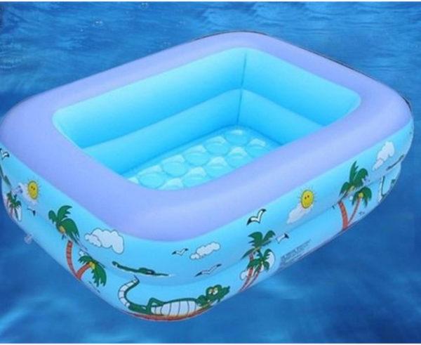 Bể bơi phao cho bé 1,5 x 1,1m x 50cm