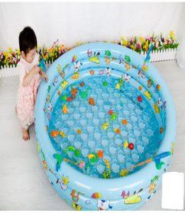 Bể bơi tròn cho bé 90
