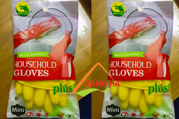 Găng tay cao su Nam Long mini 7