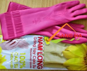 Găng tay cao su Nam Long size XL